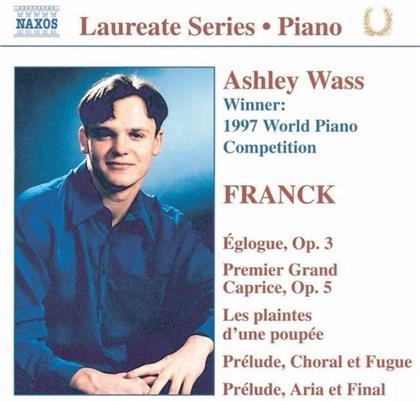 César Franck (1822-1890) & Ashley Wass - Eglogue Op 3 / Premier Grand Caprice Op 5