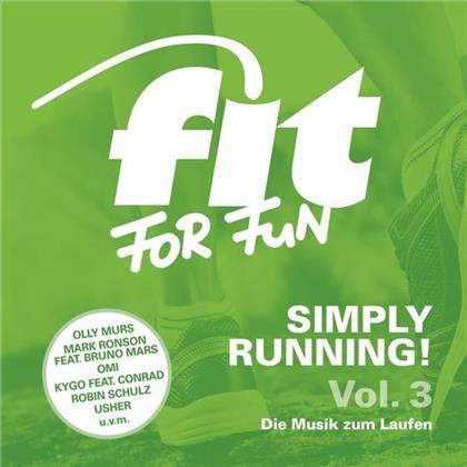 Fit For Fun - Simply Running! Die Musik Zum Laufen (2 CDs)