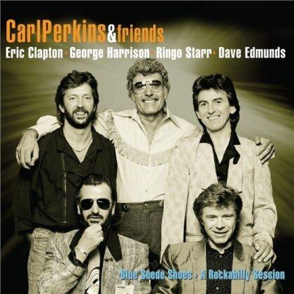 Carl Perkins, Eric Clapton, George Harrison, Ringo Starr & Dave Edmunds - Blue Suede Shoes: A Rockabilly Session (2 LPs)