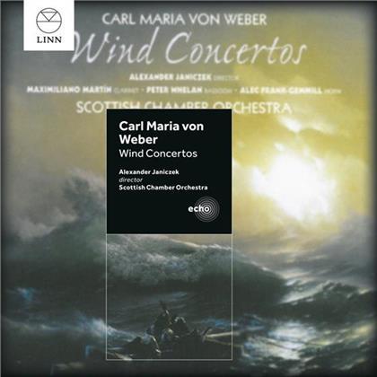 Peter Whelan, Alec Frank-Gemmill, Carl Maria von Weber (1786-1826), Maximiliano Martin & Scottish Chamber Orchestra - Wind Concertos