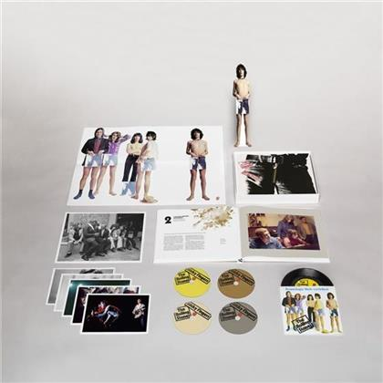 The Rolling Stones - Sticky Fingers - Super Deluxe Edition, + 7 Inch, + Bonustracks (Remastered, 3 CDs + DVD + LP)
