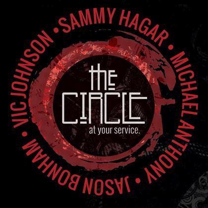 Sammy Hagar & The Circle (Hagar/Anthony/Bonham/Johnson) - At Your Service - Live (2 CDs)
