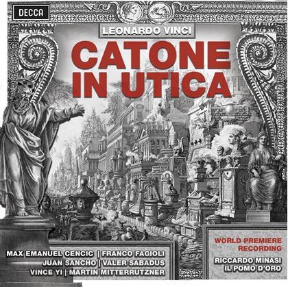 Riccardo Minasi, Franco Fagioli, Juan Sancho, Valer Sabadus, Vince Yi, … - Catone In Utica - World Premiere Recording (3 CDs)