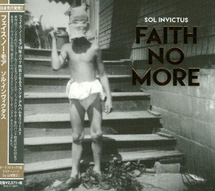 Faith No More - Sol Invictus - + Bonustrack (Japan Edition)