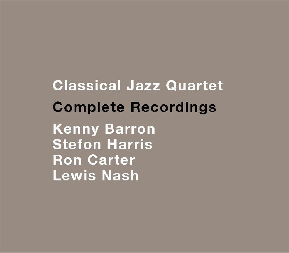 Classical Jazz Quartet - Complete Recordings (2 CDs)