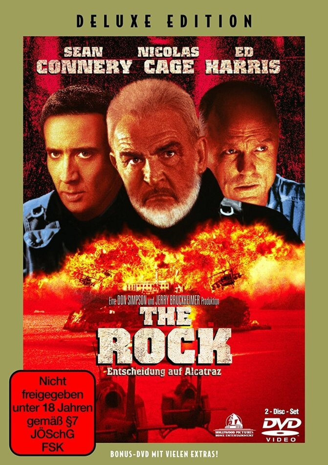 The Rock - Entscheidung auf Alcatraz (1996) (Deluxe Edition, 2 DVDs)
