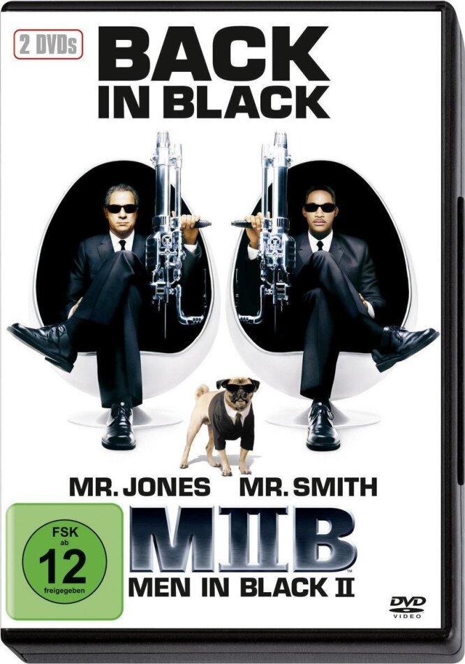 Men in black 2 (2002) (2 DVD)