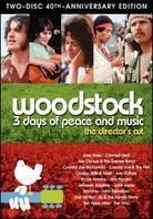 Various Artists - Woodstock (40th Anniversary Edition, Director's Cut, 2 DVDs)