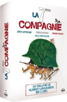 La 7ème compagnie - La trilogie (Collection Gaumont, Box, 3 DVDs)