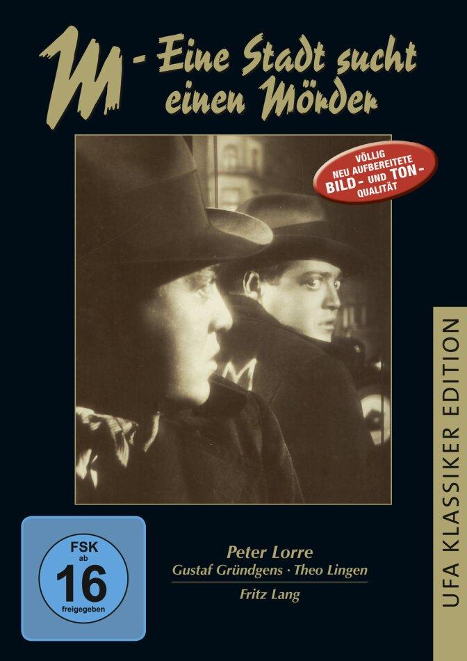 M - Eine Stadt sucht einen Mörder (1931)