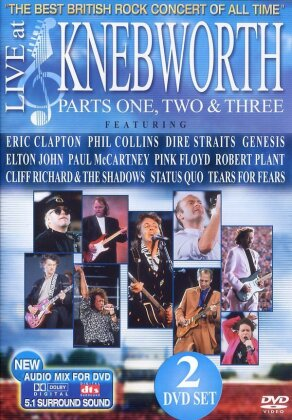 Various Artists - Live at Knebworth Parts 1-3