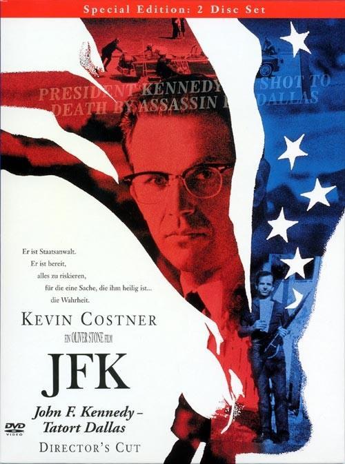 JFK - John F. Kennedy - Tatort Dallas (1991) (Director's Cut, 2 DVDs)