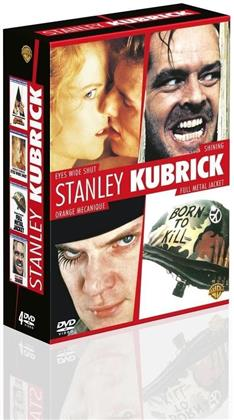 Stanley Kubrick - Eyes Wide Shut / Shining / Orange mécanique / Full Metal Jacket (4 DVDs)