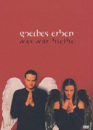 Goethes Erben - Was war bleibt (2 DVDs)