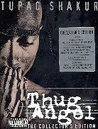 Tupac Shakur (2 Pac) - Thug Angel - The Life of an Outlaw (Collector's Edition, 2 DVD + CD + Libro)