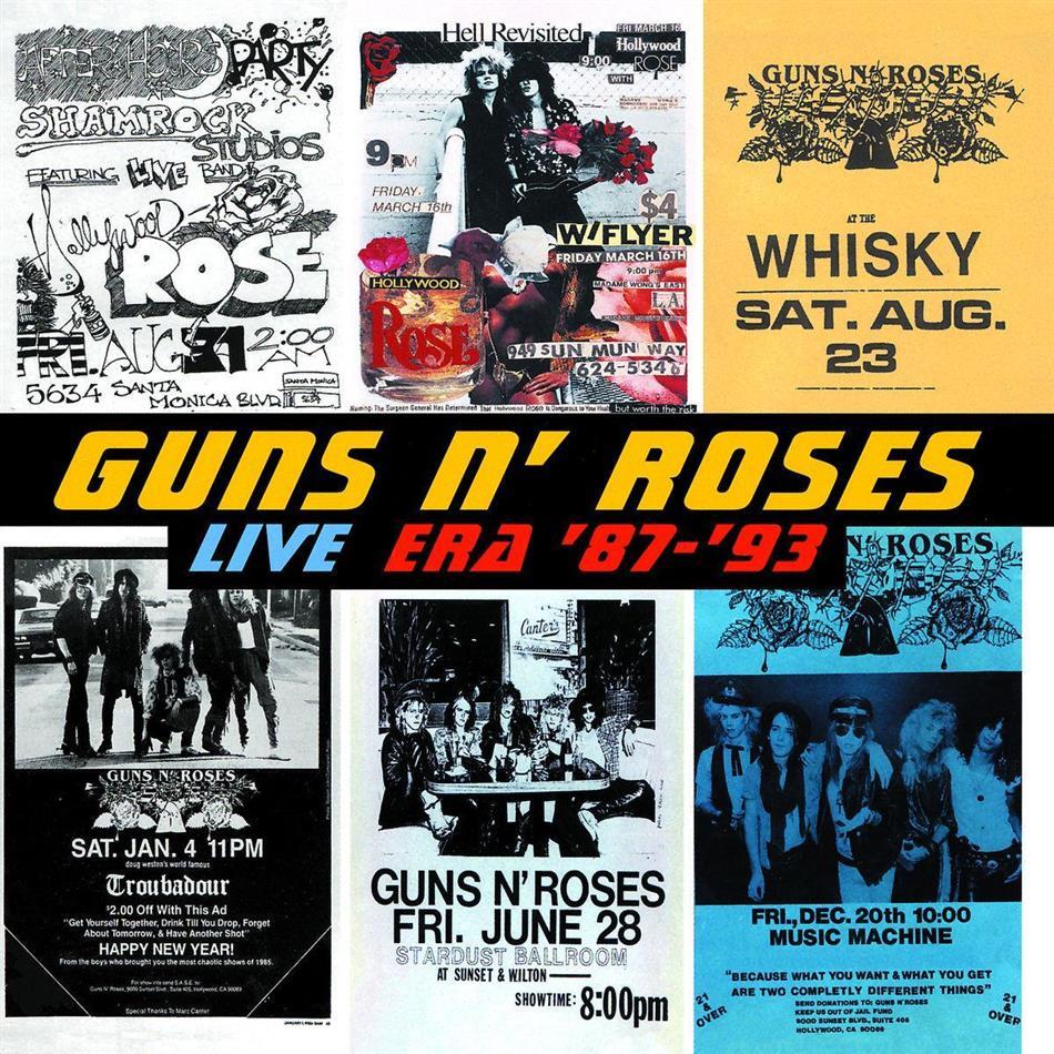 Guns N' Roses - Live Era (1987-1993) (2 CDs)