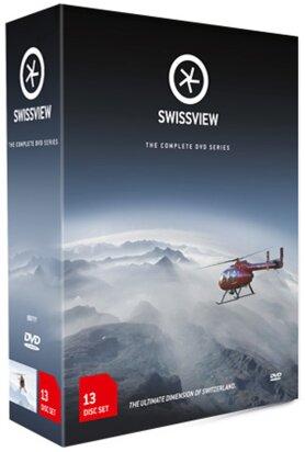 Swissview - Teil 1-4 (13 DVDs)