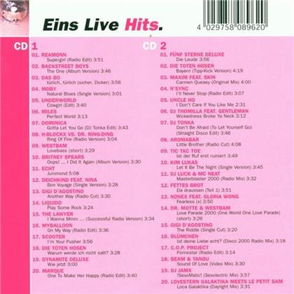 Eins Live Hits (2 CDs)