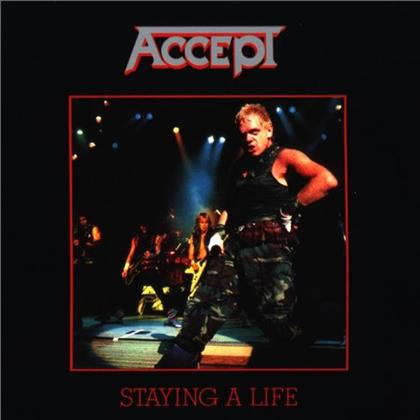 Accept - Staying A Life (2 CD)