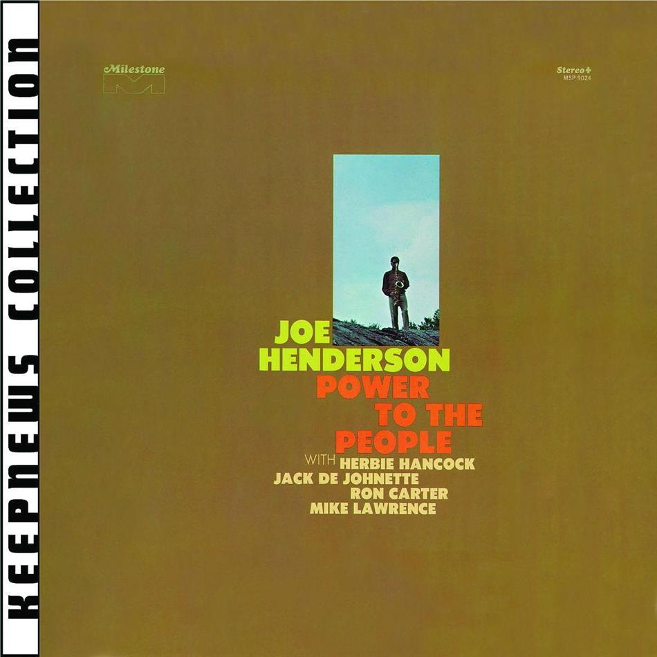 Joe Henderson - Power To The People (Remastered)