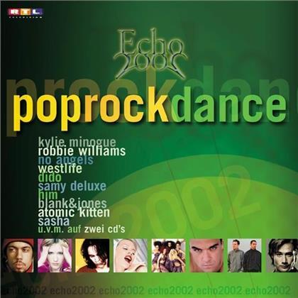 Echo 2002 - Various - Pop/Rock/Dance (2 CDs)