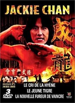 Jackie Chan - Le cri de la hyène / Le jeune tigre / Le nouvelle fureur de vaincre (Digipack)