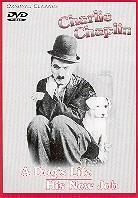 Charlie Chaplin - A dog's life / His new job (s/w)