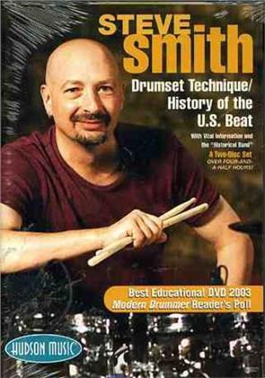 Smith Steve - Drumset Technique - History of U.S. Beat (2 DVDs)