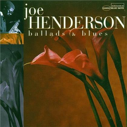 Joe Henderson - Ballads And Blues