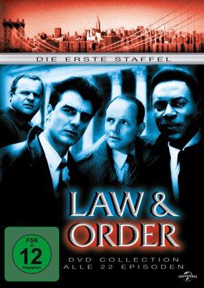 Law & order - Staffel 1 (6 DVDs)