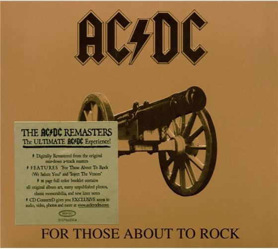 AC/DC - For Those About To Rock We Salute You (Remastered)