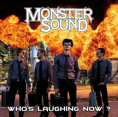 Monster Sound - Who's Laughing Now? - Fontastix CD
