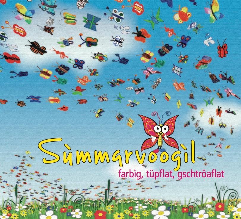 Summarvoogil - Farbig, Tüpflat, Gschtröaflat - Fontastix CD