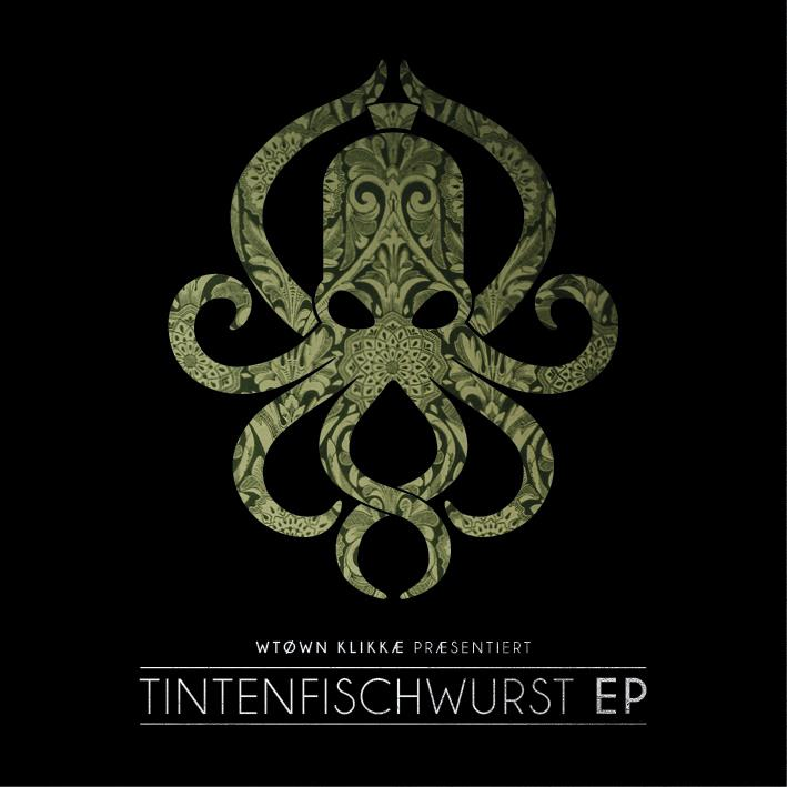 WTK (W-Town Klikkae) - Tintenfischwurst EP - Fontastix LP (LP + Digital Copy)