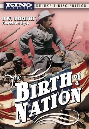The Birth of a Nation (1915) (Deluxe Edition, 3 DVD)