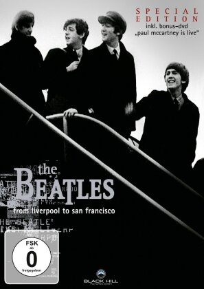 The Beatles - A Long and Winding Road (Box, 4 DVDs)