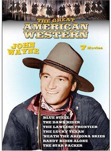 John Wayne Americana Blue Stars