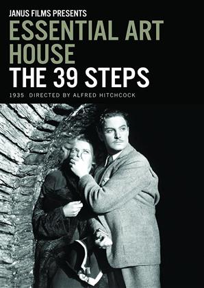 Essential Art House: The 39 Steps (1935) (s/w, Criterion Collection)