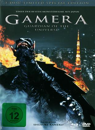 Gamera - Guardian of the Universe (Limited Special Edition, Mediabook, Blu-ray + 2 DVDs)