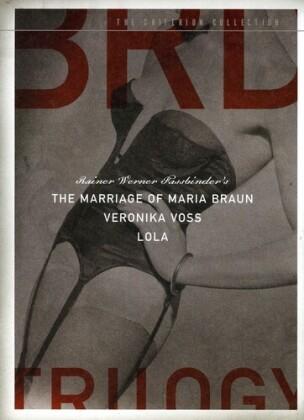Fassbinder's BRD trilogy (Criterion Collection, 3 DVDs)