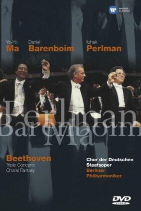 Berliner Philharmoniker & Daniel Barenboim - Beethoven - Triple Concert / Choral Fantasy (Warner Classics)