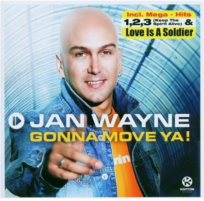 Jan Wayne - Gonna Move (CD + DVD)