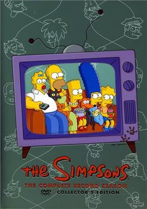 The Simpsons - Season 2 (Collector's Edition, 4 DVD)