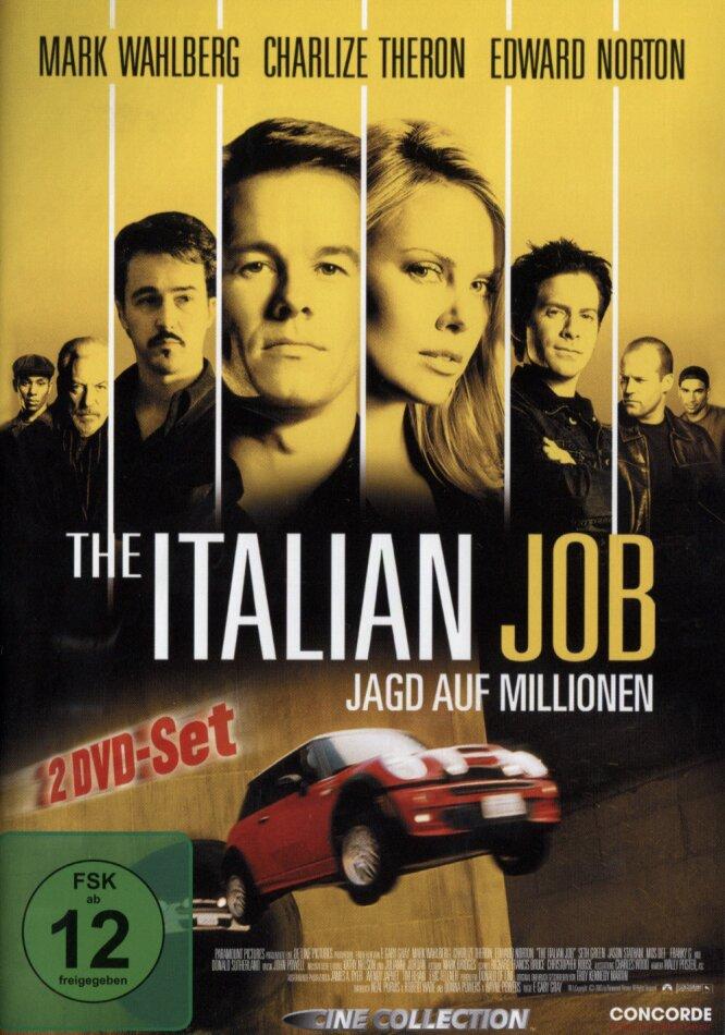 The Italian Job - Jagd auf Millionen (2003) (2 DVDs)