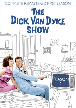 The Dick Van Dyke Show - Season 1 (b/w, Remastered, 5 DVDs)
