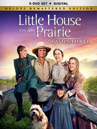 Little House on the Prairie - Season 3 (Deluxe Edition, Versione Rimasterizzata, 5 DVD)