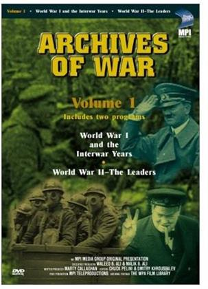 Archives of war 1 - World War 1: The Interwar years (s/w)