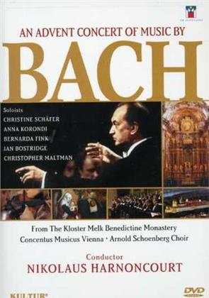 Arnold Schönberg Choir & Nikolaus Harnoncourt - Advent concert of music by Bach