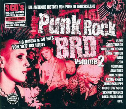 Punk Rock BRD - Vol. 2 (3 CD)
