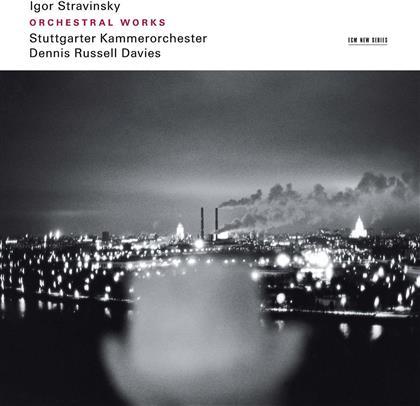 Igor Strawinsky (1882-1971), Igor Strawinsky (1882-1971), Dennis Russell Davies & Stuttgarter Kammerorchester - Orchestral Works